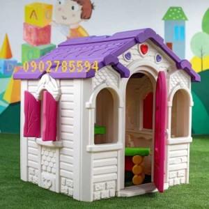 Nhà cổ tích cho bé vui chơi thỏa thích rẻ- bền- đẹp