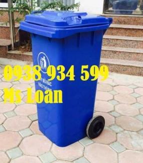 Thùng rác công cộng, thùng rác 120 lít giá rẻ tại Sài Gòn
