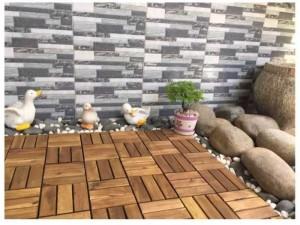 Tấm gỗ lót sàn mùa đông