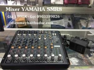 Mixer bàn Yamaha SMR8-USB hỗ trợ 16 chế độ chỉnh Echo