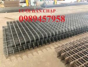 Lưới thép hàn chập phi 12 ô 100x100, 150x150, 200x200, D10 ô 100x200, 250x250