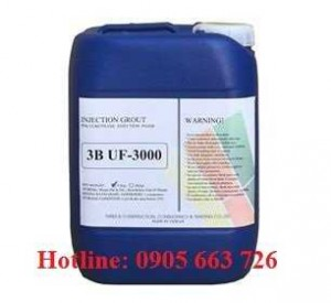 Keo chống thấm trương nở 3B-UF3000, PU 3000, polyurethane UF3000 chất lượng tốt cho công trình