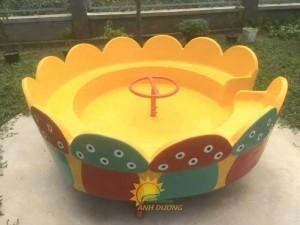Chuyên sản xuất và cung cấp mâm xoay cho trường mầm non, khu vui chơi, công viên