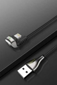Cáp Sạc Nhanh Truyền Dữ Liệu Wsken Cổng USB Loại C Hình Chữ U (6V) (3A) dai 2 met