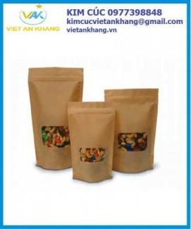 Túi đựng kẹo lạc, đậu phộng, mứt, bí, các loạt hạt điều, hạt óc chó, hạt macca, đựng gạo