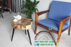 Bàn Sofa gỗ Tràm đường kính 40-50cm