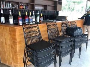 Ghế sắt đũa Cafe giá xưởng - nội thất Nguyễn hoàng
