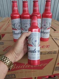 Bia Budweiser Nhôm 473ml, 24 chai