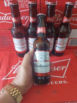 Bia Budweiser Nhập Khẩu Mỹ, 330ml, 24 chai