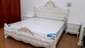 Giường cổ điển nhập khẩu giá rẻ, nội thất phòng ngủ tân cổ điển châu âu
