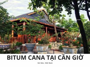 Ngói Bitum Cana - Ngói nhẹ cho nhà gỗ