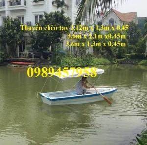 Thuyền chèo tay cho 2-4 người, Thuyền câu cá 4-6 người giá rẻ