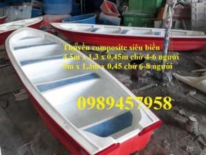 Thuyền composite chở 4-6 người, thuyền chở khách 10-20 người tại Hà Nội
