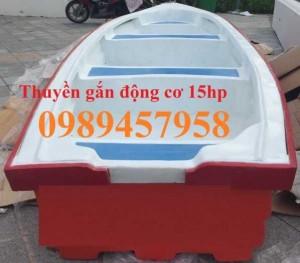 Thuyền chở hàng 1tấn, 1,2tấn, Thuyền khu du lịch sinh thái, Thuyền gắn mái che