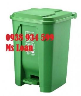 Thùng rác y tế đạp chân 30 lít, thùng rác y tế đạp chân 30 lít
