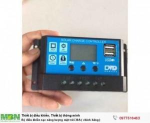 Bộ điều khiển sạc năng lượng mặt trời 30A (...