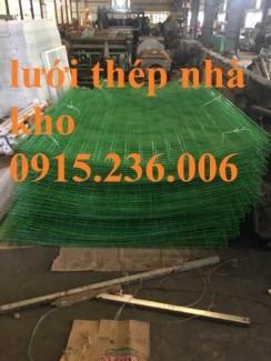 Hàng rào lưới thép hàn phi 5 ô 50x100, 50x150, 50x200 làm theo yêu cầu