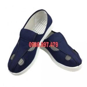 Giày phòng sạch 4 lỗ/ Cung cấp giày dép phòng sạch