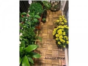 Vỉ gỗ lót ban công, sân vườn