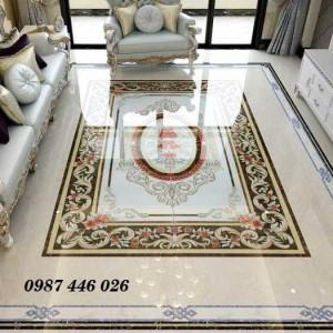 Gạch thảm lát nền, gạch phòng khách HP141