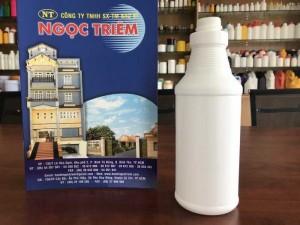 Bình Nhựa 1 Lít Xoắn (B-021X) - Bao Bì Ngọc Triêm