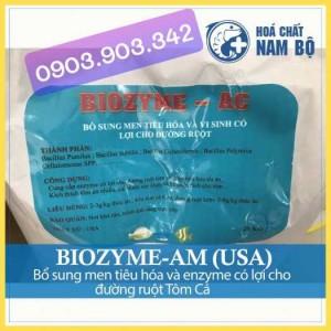 Men Tiêu Hoá Biozyme-Ac Nguyên Liệu Cung Cấp Enzyme Đường Ruột Cá Tôm .