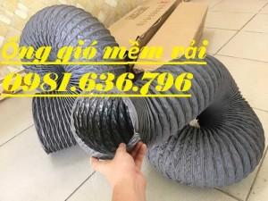 Ống gió mềm vải lõi thép D100
