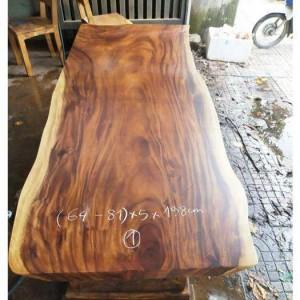 Mặt bàn Gỗ H.7 (64-81cm X 1,98m) Dày 5cm