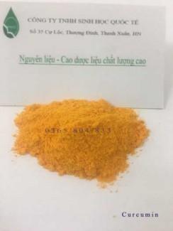 Cung cấp nguyên liệu nano curcumin 5% giá tốt nhất trên thị trường