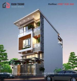 Thiết kế nhà phố hiện đại đẹp NP18339