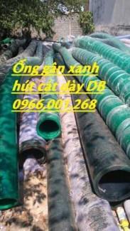 Ống gân nhựa xanh bơm hút cát phi 140,phi 150,phi 168,phi 200,phi 220,phi 250 giá rẻ