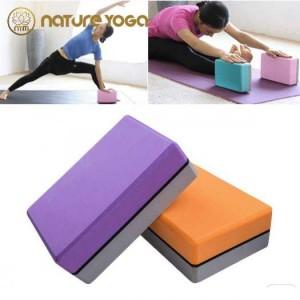 Gạch Khối tập yoga EVA NYM 420 Gram xám