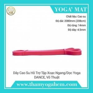 Dây Tập Kháng Lực Xoạc Ngang/Dọc Yoga – Cao Su
