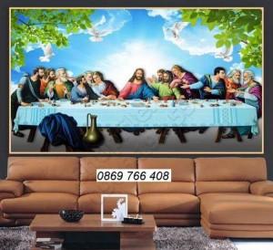 Gạch tranh-gạch tranh 3D Công Giáo