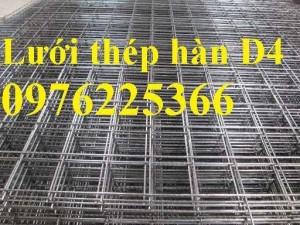 Lưới đổ sàn bê tông phi 4, hàng có sẵn