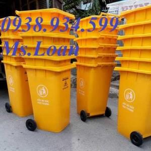 Thùng rác lây nhiễm 240l