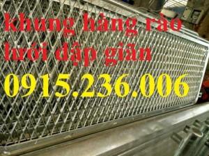 Hàng rào lưới dập giãn, lưới XG 19, XG20, XG21..., lưới trang trí mới 100%