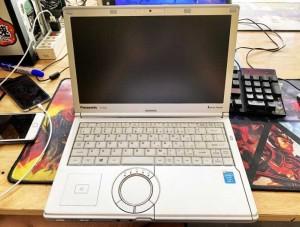 Laptop Panasonic CF-NX3 Core i7-4500U Ram 8GB SSD 240GB VGA ON Màn 12.1 Inch HD+ Máy Nhỏ Gọn Đẹp