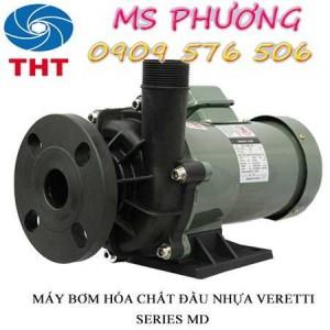 Bán máy bơm hóa chất Veratti giá rẻ nhất TPHCM
