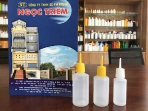 Chai Nhựa 50ml (C-011)/ 100ml (C-012) - Bao Bì Ngọc Triêm