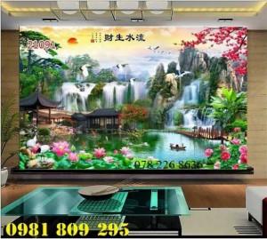 2020-10-28 16:00:41  2  Mẫu tranh phong cảnh trang trí - gạch tranh 3d 1,200,000
