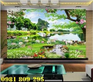 2020-10-28 16:00:41  1  Mẫu tranh phong cảnh trang trí - gạch tranh 3d 1,200,000