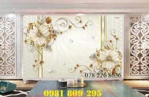 2020-10-28 16:12:01  1  Gạch tranh 3d hoa ngọc trang trí - tranh 3d ốp tường phòng ngủ 1,200,000