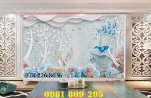 2020-10-28 16:12:01  2  Gạch tranh 3d hoa ngọc trang trí - tranh 3d ốp tường phòng ngủ 1,200,000