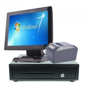 Máy tính tiền giá rẻ SGT664 loại thông dụng.