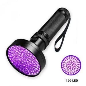 [BanSi] Đèn UV Led 100 Bóng 10W, Sấy Keo UV, Soi Tiền