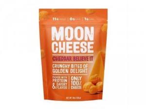 Phô mai xấy khô Moon Cheese Cheddar, (283gram)