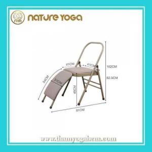 Ghế Tập Yoga Đa Năng Hỗ Trợ Tại Nhà Có Cầu Đỡ Đầu