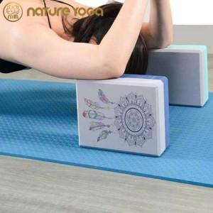 Gạch tập yoga Hoa Văn Dream Catcher 2 Lớp Cao Cấp