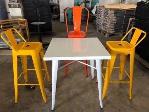 Bộ bàn ghế bar Tolix giá xưởng